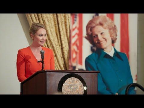 Melanie Eisenhower speaks at USC, to honor First Lady Pat Nixon