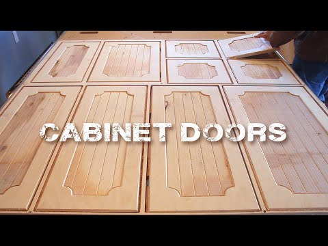Remodeling Kitchen Cabinets with a CNC Router