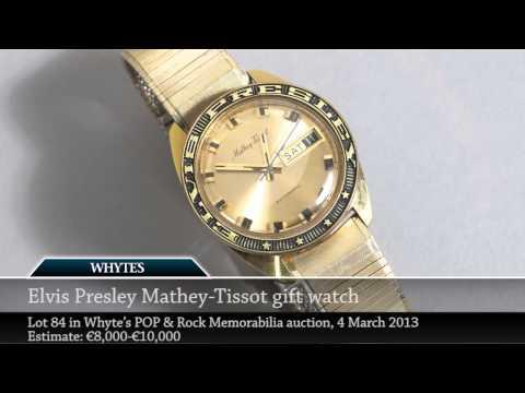 3. Elvis Presley Memorabilia for Auction in Ireland