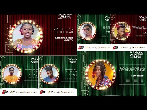 Full List: Winners of 20th Edition of Vodafone Ghana Music Awards (VGMA) 2019 Mp3