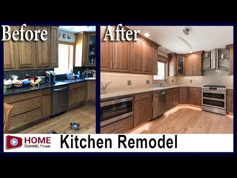 Before & After Kitchen Remodel By KLM Remodeling | Home Channel TV