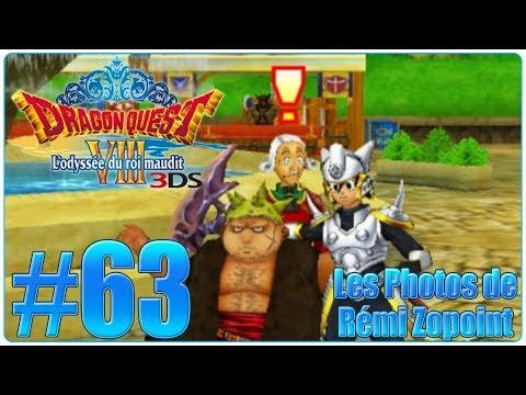 Let's Play Dragon Quest 8 3DS : L'odyssée du Roi Maudit FR 63  Les Photos de Rémi Zopoint !