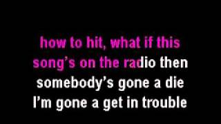 Pink So What Karaoke Instrumental with lyrics