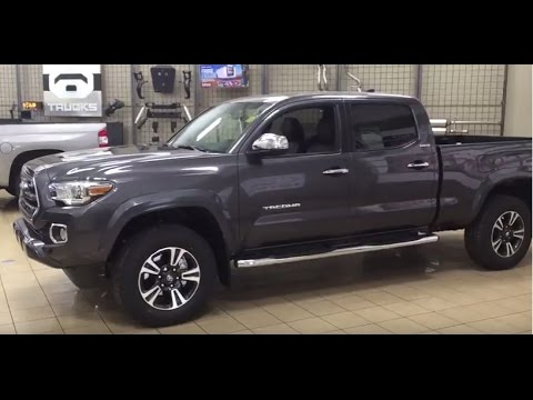 2017 toyota tacoma limited review youtube. Black Bedroom Furniture Sets. Home Design Ideas
