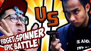 Download Video FIDGET SPINNER EPIC BATTLE !! Wkwkwkwk MP3 3GP MP4
