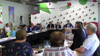 Смотреть видео 5 июня 2018 г. - Бюро РОДП Яблоко -  выборы мэра Москвы онлайн