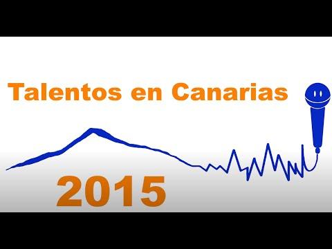 Talentos en Canarias 2015. Приглашение.