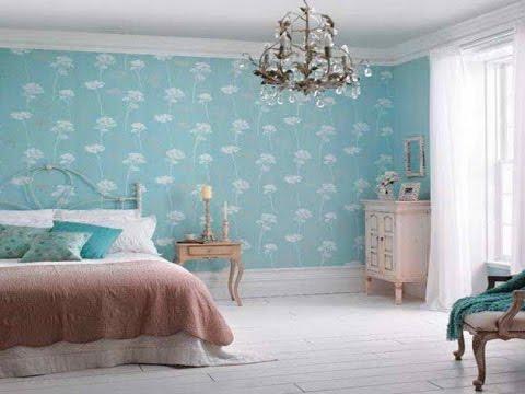 Пастельно-Голубой Дизайн Спальни