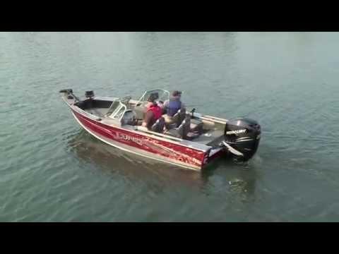 2016 Lund 1975 Pro-V 19' Aluminum Fishing Boat