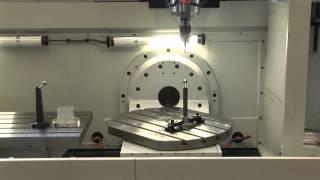 Spinner CNC Kinematik vermessen