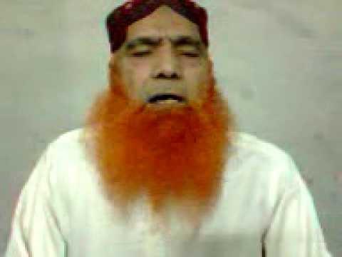 Bandeya Jahan uttay Haji Khushi Muhammad Sab Of Gujranwala