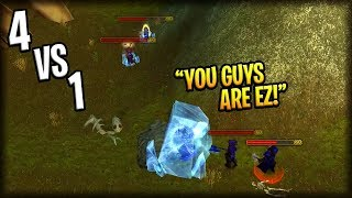 When Classic WoW Streamers OUTPLAY Gankers! #3