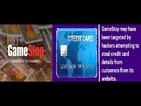 Report: GameStop Hit with MASSIVE SECURITY BREACH!! Credit Cards AT RISK!!!