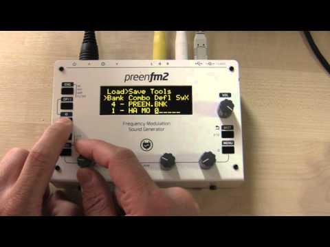 preenfm2 | DIY FM sound generator