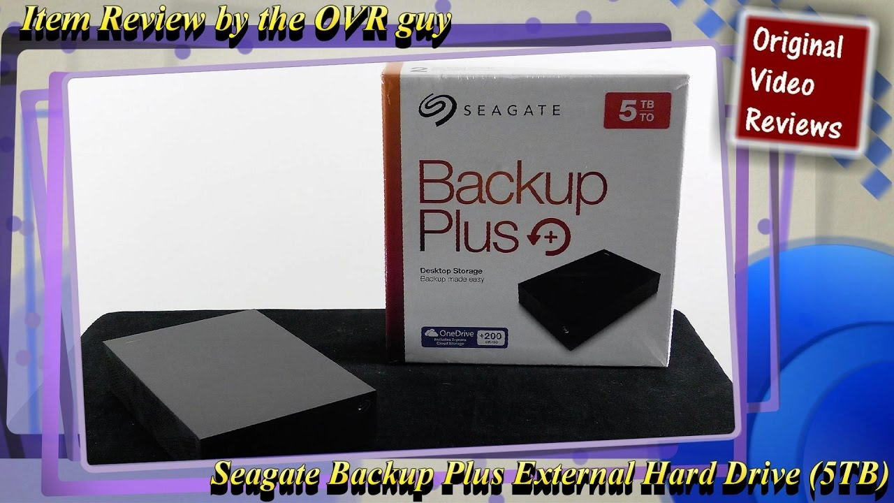 Item Review Seagate Backup Plus External Hard Drive 5tb Youtube Expansion Desktop 35 Inch 4tb Hdd Eksternal Usb 30 With Power Adaptor