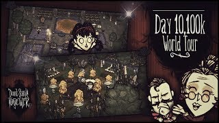 Don't Starve Together - Megabase Day 10,100k World Tour (Part 1)