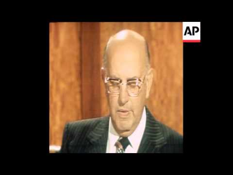 SYND 13 4 79 PRIME MINISTER BOTHA ACCUSES USA OF SPYING IN TELEVISION SPEECH