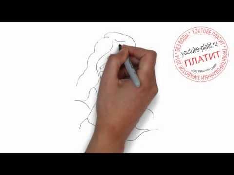 Нарисованные девушки брюнетки  Как научиться рисовать девушек