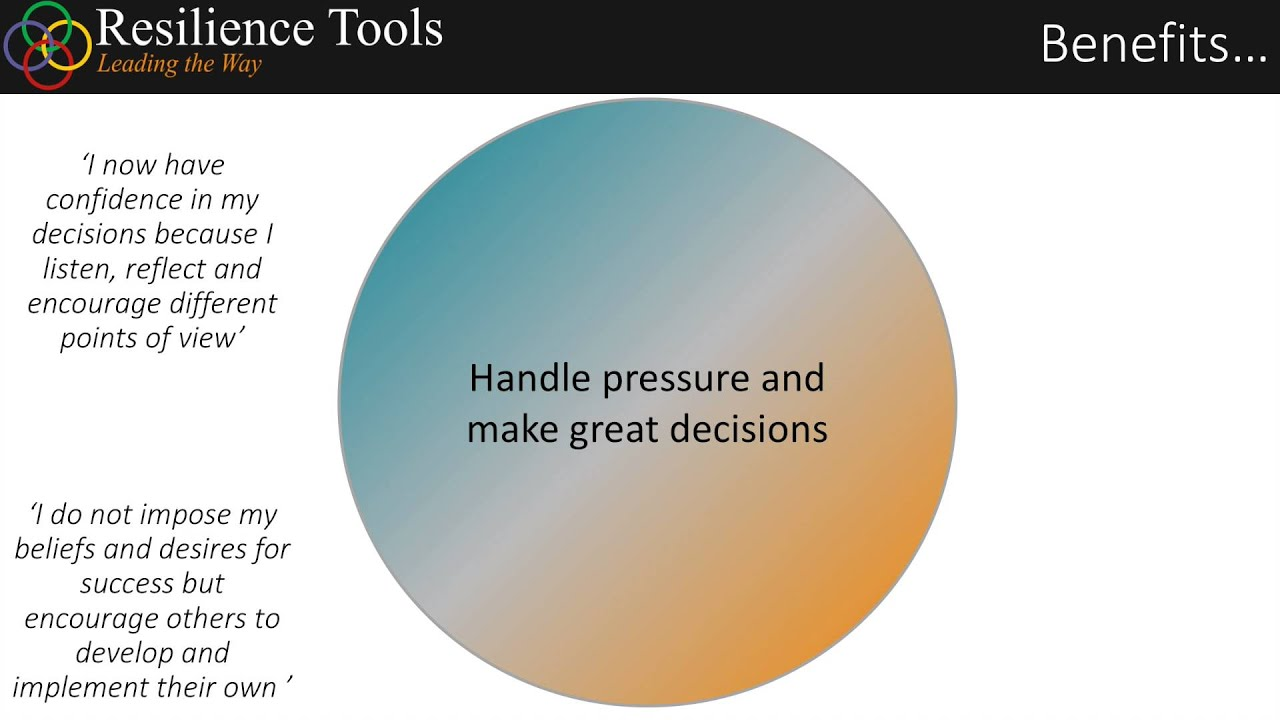 resilience tools