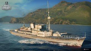 World of Warships HERMELIN (Германия) (PC) корабль 1 уровня