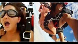 【影片】全球第一對挑戰「跳傘上愛愛」的男女!一打開跳傘他竟當場……畫面激烈到我握不住手機!
