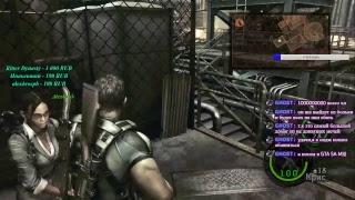 Кооперативное прохождение Resident Evil 5