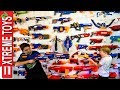 Full Nerf Blaster Arsenal Remastered! Sneak Attack Squad Giant Blaster Collection