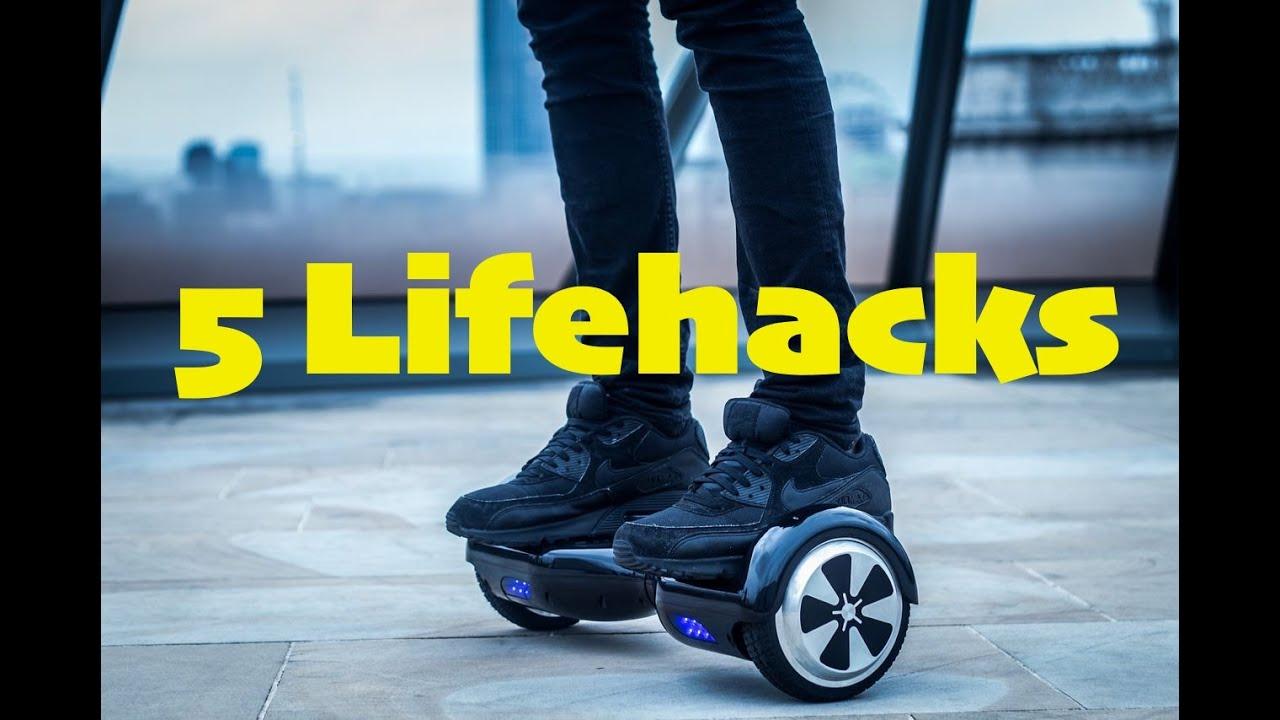 5 coole hoverboard lifehacks vtntv youtube. Black Bedroom Furniture Sets. Home Design Ideas