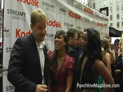 "Streamy Awards 2010 Red Carpet - ""Back of the Room Matthew Gill"""