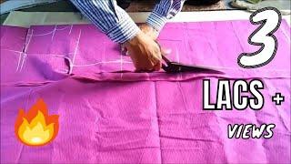 Repeat youtube video Kameez cutting easy method using body measurements