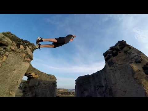Crazy jump over Galle Fort Walls like monkeys