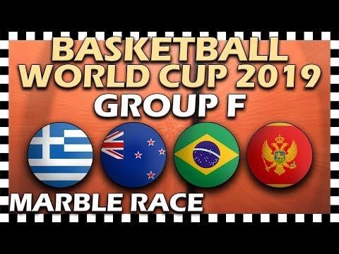 World Cup Basketball 2019 FIBA - Group F - Marble Race Algodoo