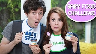 BABY FOOD CHALLENGE! ft Kurt Hugo Schneider