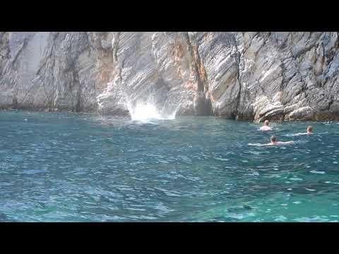 boattrip Marilena, Gouvia, Corfu  Stefanos jump