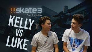 Worst Game of SKATE? Skate 3 SKATE - Kelly vs Luke