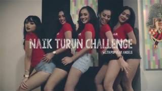 Naik Turun Challenge with POPULAR Angels