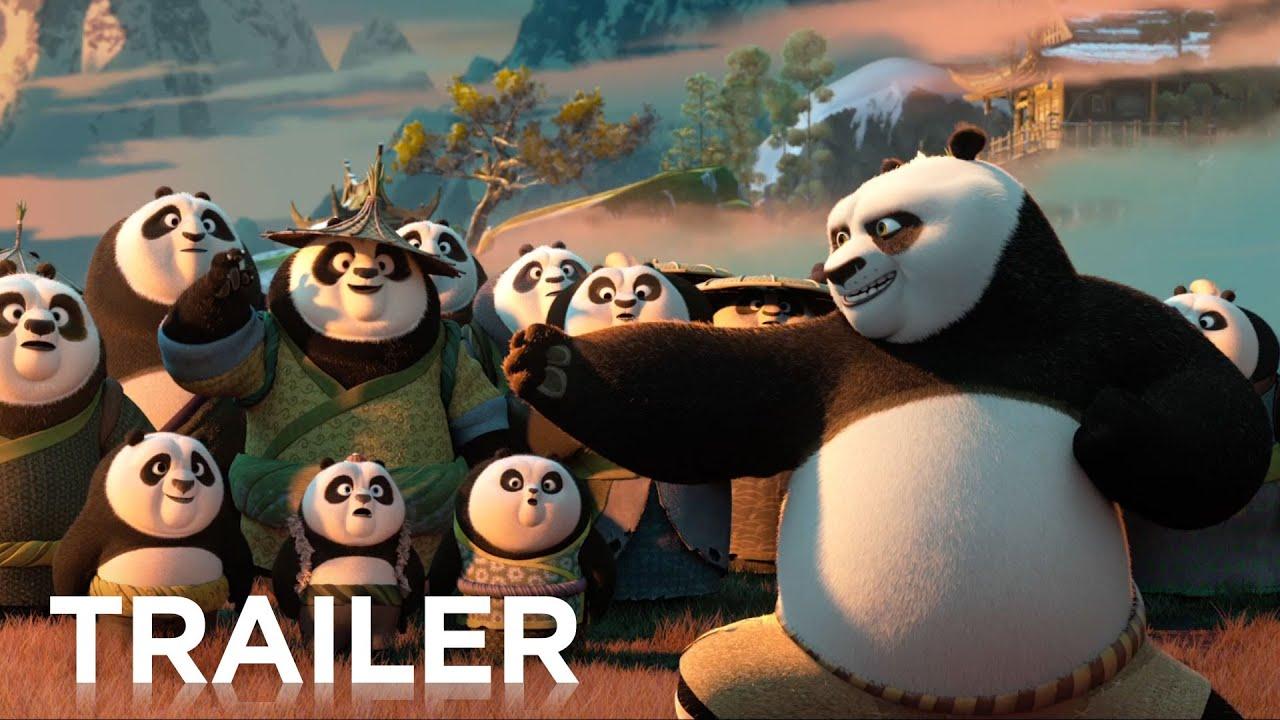 Kung Fu Panda 3 Official Hd Trailer 2 2016 Youtube