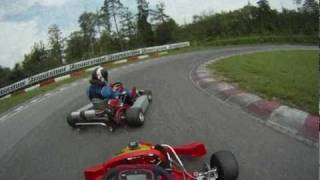 Aixro XR50 Wankel Kart Racing in Lyss (GoPro HD Helmet Hero)