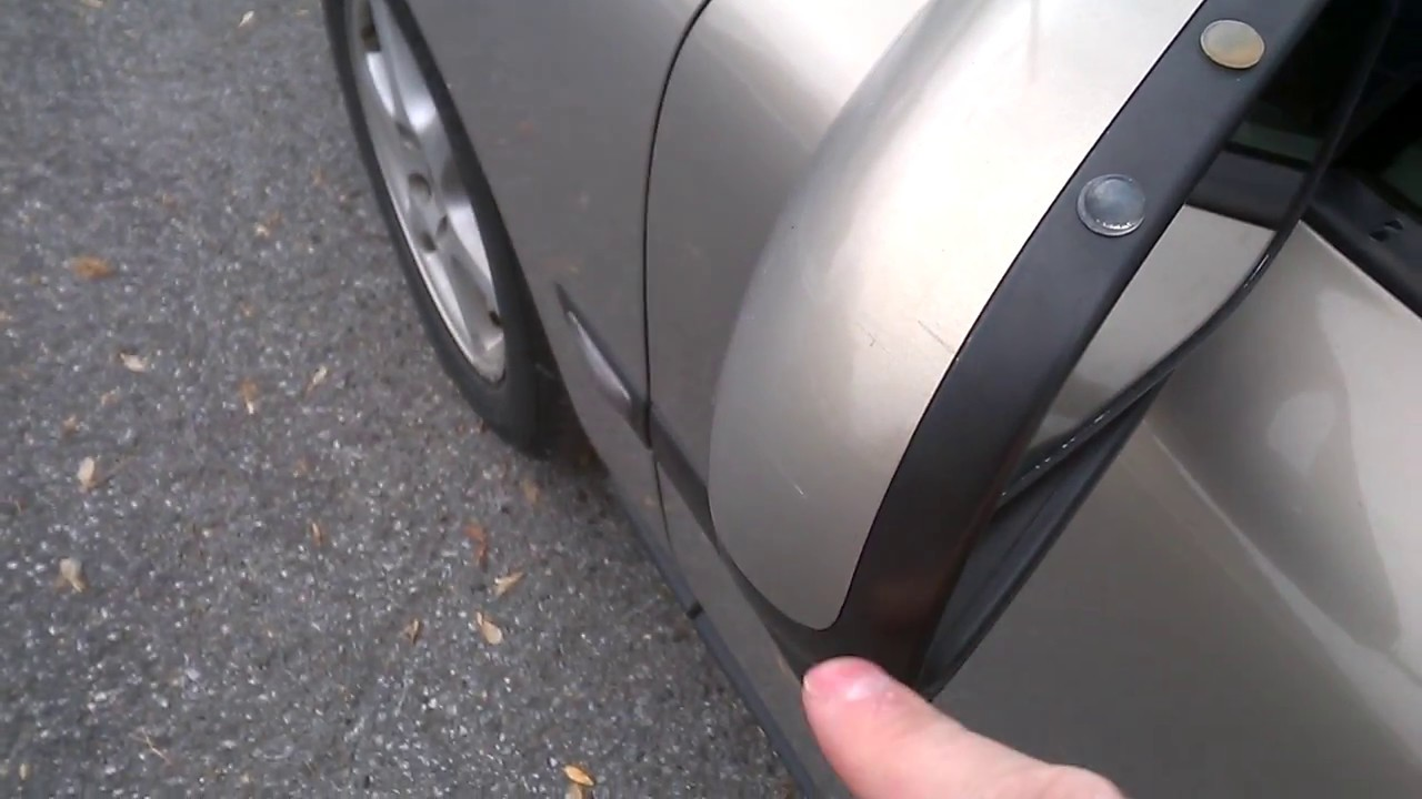Wind noise from the side mirror when driving on highway - small fix & Wind noise from the side mirror when driving on highway - small fix ...