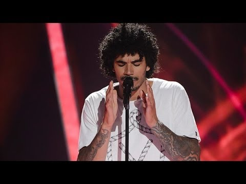 Johnny Rollins Sings Beneath Your Beautiful | The Voice Australia 2014