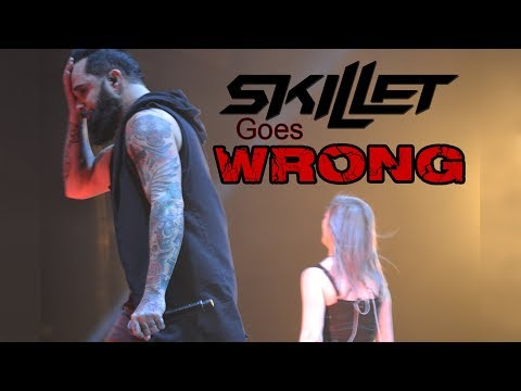Skillet Goes WRONG at Winter Jam 2018! . . . (Then gets EPIC!)
