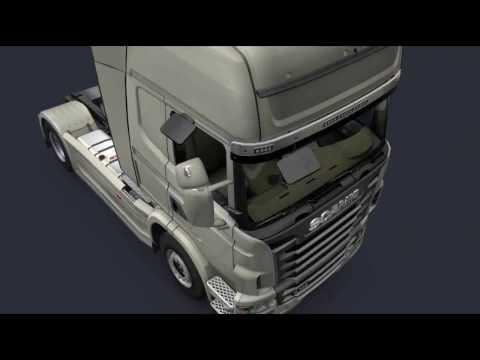 euro truck simulator 2 เกมขับรถบรรทุกตอนมืด