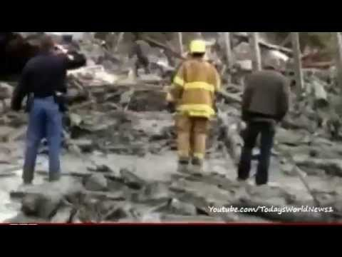 Eight killed by a landslide in Washington state