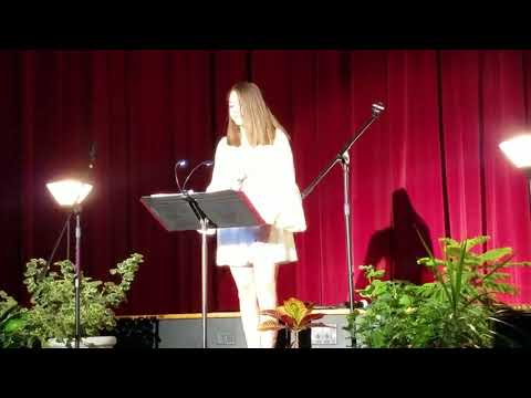 Emily Secor singing I dreamed a dream at 13 years old Tenafly middle school