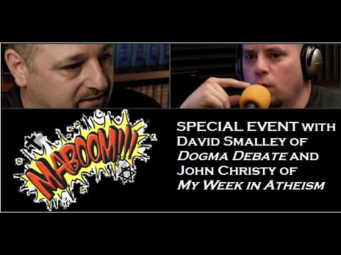 """David Smalley of Dogma Debate """"Loving Your Enemy"""" and Debate with John Christy"""