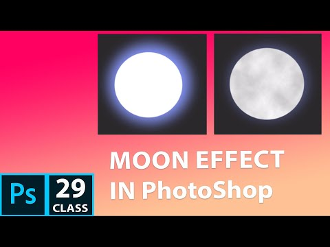 How to Create Moon in PhotoShop CC 2019 | PhotoShop Tutorial for beginner in Hindi thumbnail