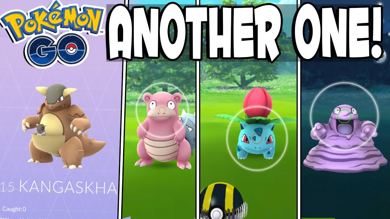 Pokemon GO KANGASKHAN IN POKEDEX!! Rare Catches, Grinding XP & Another SEEN  Exclusive in Pokemon GO - YouTube