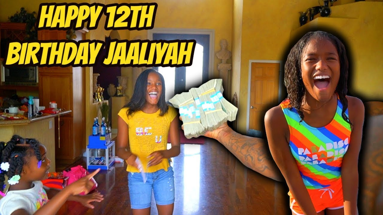 HAPPY 12th BIRTHDAY JAALIYAH!