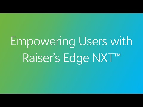 COVID-19: Empowering Users with Raiser's Edge NXT