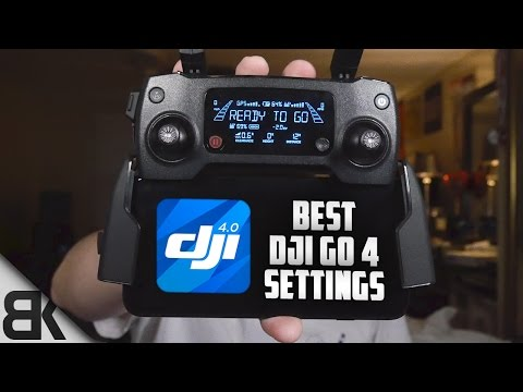 The Best DJI Go 4 Settings For the Mavic Pro